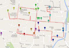 Phuket Town Map