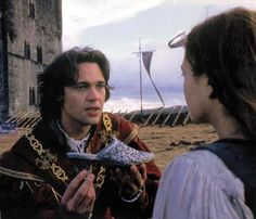 """best scene  """"I kneel before you not as a prince, but as a man in love... But I would feel like a king if you, Danielle De Barbarac, would be my wife."""""""