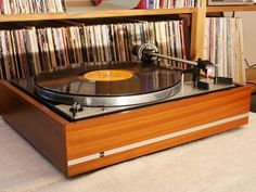 Dual 1219. A German game changer in the 1970s. Not without flaws, but very musical. It is probably the finest record changer ever created.