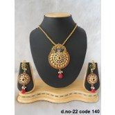 rich-lady-awesome-maroon-designer-pendant-set