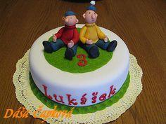 dětský dort pat a mat - Hledat Googlem