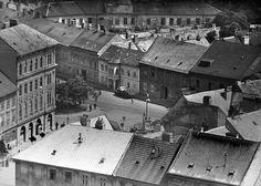 Rybné námestie, Bratislava 1950's Bratislava, Nostalgia, Arch, Louvre, Building, Travel, Times, Fotografia, Longbow
