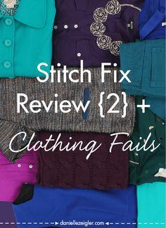 Stitch Fix Review {2} + Clothing Fails #stitchfix #fashion