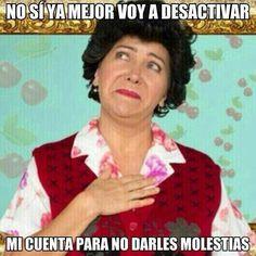 Doña Lucha Spanish Jokes, Funny Spanish Memes, Funny Picture Quotes, Funny Quotes, Funny Images, Funny Pictures, Mexican Problems, Mexican Memes, Mexicans Be Like