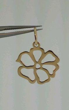 PANDORA 14K LARGE GOLD FLOWER #350128 #Pandora #FLOWER