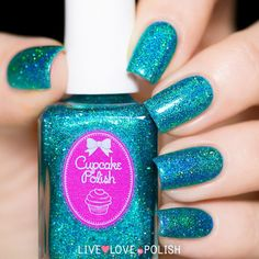 Cupcake Polish Bluebell Girls Nail Polish (Las Vegas Showgirls Collect   Live Love Polish