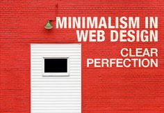Minimalism not only looks nice but it enhances the user experience. A complaint of many users has been that some websites are too complicated to