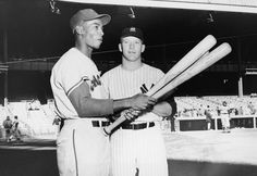 Ernie Banks  (pictured with Mickey Mantle before the 1958 All-Star Game) won his first Most Valuable Player award that season when he hit .313 with 47 homers and 129 RBI. In 1959, he won a second MVP after hitting .304 with 45 homers and 143 RBI. ...