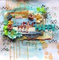 A Project by LeilaCardoso from our Scrapbooking Gallery originally submitted 11/22/13 at 02:55 PM