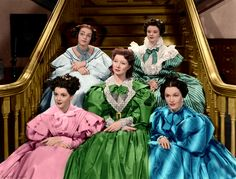 Marsha Hunt, Heather Angel, Ann Rutherford, Greer Garson & Maureen O'Sullivan - Pride and Prejudice Darcy Pride And Prejudice, Pride & Prejudice Movie, Old Hollywood Movies, Classic Hollywood, Vintage Hollywood, I Movie, Movie Stars, Elizabeth Patterson, Bennet Sisters