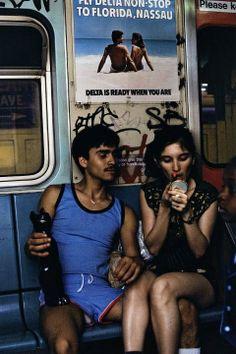 Vintage New York : New York Subway,1980s