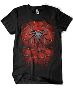 1513-Camiseta Spiderman Chest #camiseta #realidadaumentada #ideas #regalo