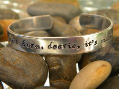 Evil isn't born, dearie, it's made - Once Upon A Time inspired bracelet on Etsy, $19.00