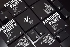 Business cards & invitation design for plustwo.eu clothing firm