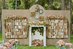 how to build a book back drop - Google Search
