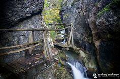 Yablanitsa River waterfall and the gorge, Bulgaria