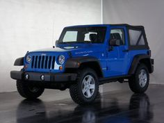 2011 Cosmos Blue Jeep Wrangler Rubicon http://www.iseecars.com/used-cars/used-jeep-wrangler-for-sale