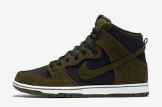Nike SB Dunk High Medium Olive