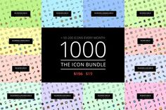 The Icon Bundle 1000  by The Store on @creativework247