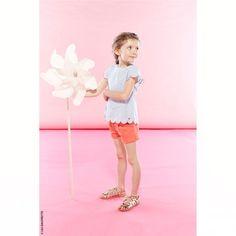 Lili Gaufrette - Seersucker blouse - 230473