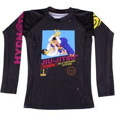 Listed Price: $27.99 Brand: Hypnotik The Hypnotik Kids 8-Bit Rashguard is a throwback to a martial arts classic! Fans of��_