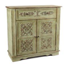 Cathedral Tiles Cabinet | Kirklands