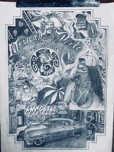 Chicano Drawings, Chicano Art, Cholo Style, Pyrography Patterns, Lowrider Art, Mexican Art, Pencil Drawings, Aztec, Tattoos