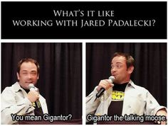 Mark Sheppard on working with Jared....