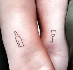 112 Hopelessly Romantic Couple Tattoos That Are Better Than A Ring - 109 Hopele. - 112 Hopelessly Romantic Couple Tattoos That Are Better Than A Ring – 109 Hopelessly Romantic Cou - Bff Tattoos, Mini Tattoos, Bestie Tattoo, Body Art Tattoos, Cute Best Friend Tattoos, Hp Tattoo, Arrow Tattoos, Tattoo Flash, Temporary Tattoos