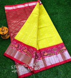 Saree Design Patterns, Indian Sarees, Silk Sarees, Picnic Blanket, Outdoor Blanket, Pochampally Sarees, Exclusive Collection, Color Combinations, College