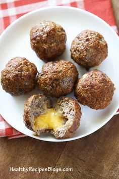 Cheese stuffed meatb