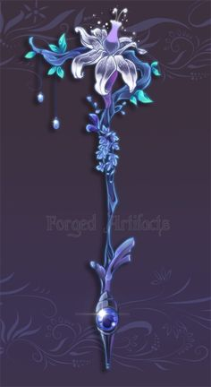 Weapon Adoption 21 Staff GIVEAWAY! CLOSED by Forged-Artifacts.deviantart.com on @deviantART