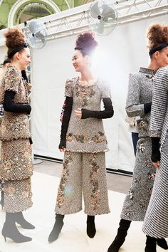 Chanel Fall 2016 Haute Couture Backstage