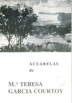 Acuarelas de Mª Teresa García Courtoy en la  Casa de la Cultura de Cuenca Mayo 1980 #CasaCulturaCuenca #MariaTeresaGarciaCourtoy