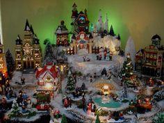2008 Christmas Village