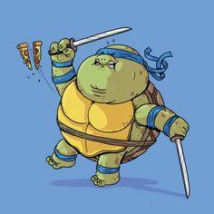 Leonardo (Cartoon Characters Just Got Fat.)