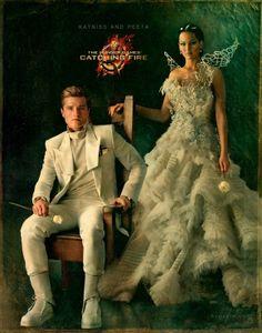 Peeta and Katniss, Catching Fire.