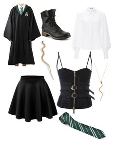 """""""Untitled #253"""" by alisha-dovey on Polyvore featuring LE3NO, Zac Posen, Dsquared2 and Shay"""