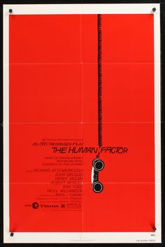 Saul Bass introduced the concept of empty space in movie posters.