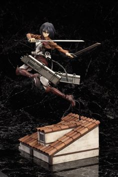 Attack on Titan Statue 1/8 Mikasa Ackerman DX Ver. 17 cm