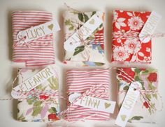 DIY Fabric wrapped conversation hearts for Valentines DAY Creative Gift Wrapping, Creative Gifts, Wrapping Ideas, Pretty Packaging, Gift Packaging, Packaging Ideas, Christmas Wrapping, Christmas Crafts, Diy Gifts