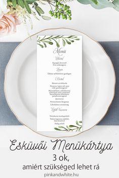 Esküvői menükártya: 3 ok, amiért szükséged lehet rá 60th Birthday, Birthday Ideas, Minden, Thanksgiving Crafts, Pink White, Our Wedding, Wedding Invitations, Weddings, Blog