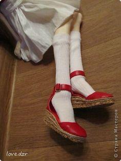 Еще один мк по созданию обуви для кукол. фото 41