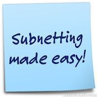 Subnetting made easy ~ Cisco Networking Notes