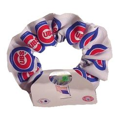 f700a295 Get this Chicago Cubs Logo Scrunchie at WrigleyvilleSports.com Cubs Fan,  Scrunchies, Chicago