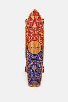 STRGHT Warrior Calendar Cruiser Skateboard