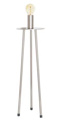 LIM 723 - Lim 723 - Mild steel Husky gold bronzefFlat plate spider 550mm table lamp base
