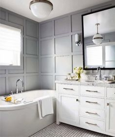 Thought I would posta round-up of panelling photos that served as myinspirationwhichI've had saved to my computer all this time! I just ...