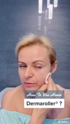 Self Massage, Face Massage, Face Yoga Exercises, Facial Yoga, Derma Roller, Skin Care Tools, Skin Care Remedies, Face Skin Care, Skin Care Treatments
