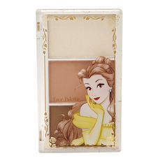 e.l.f. Disney Belle An Enchanted Tale Face Palette with highlighter, blush and bronzer.